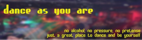 dance as you are main banner